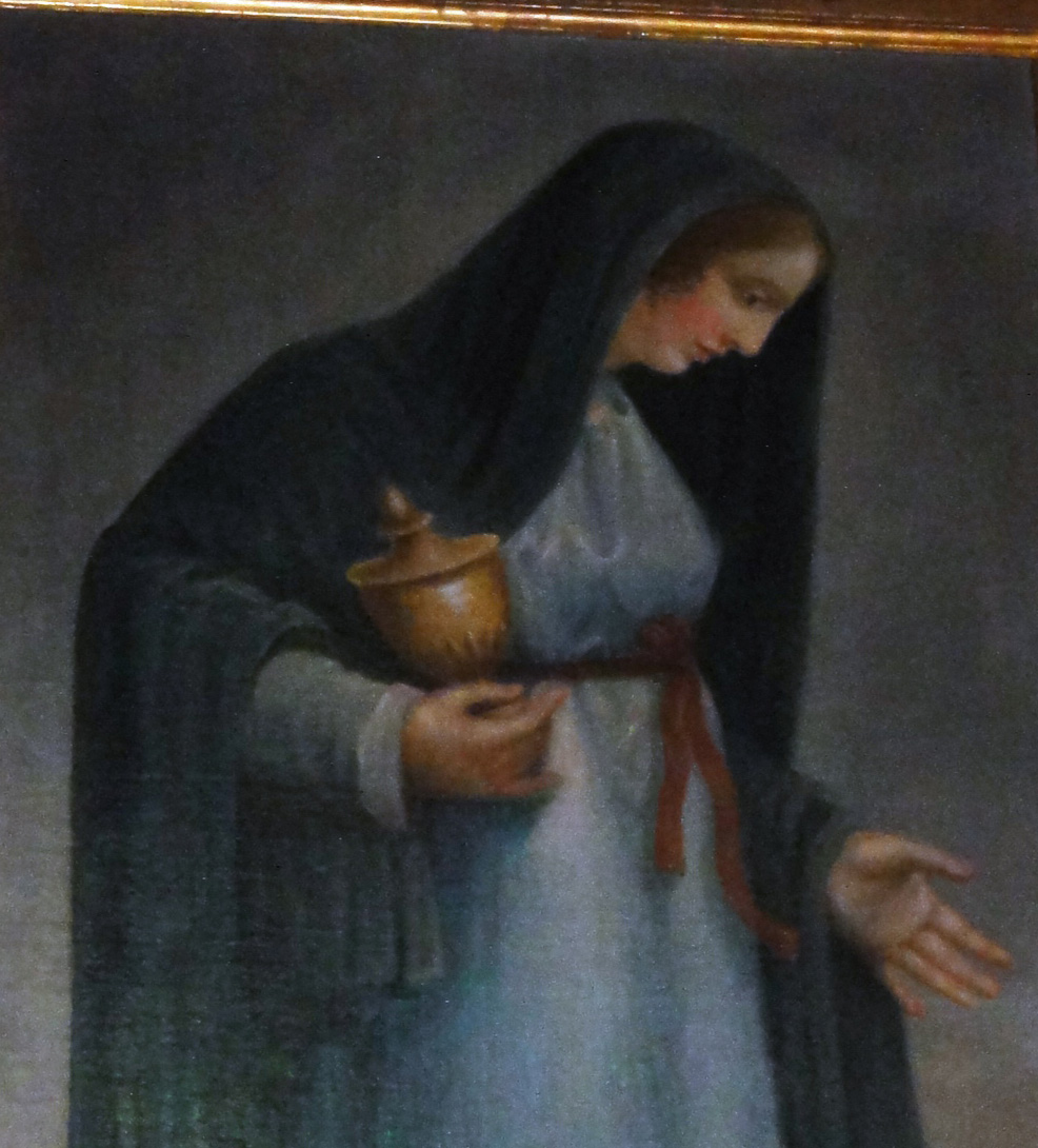 Maria Magdalena mit Krug